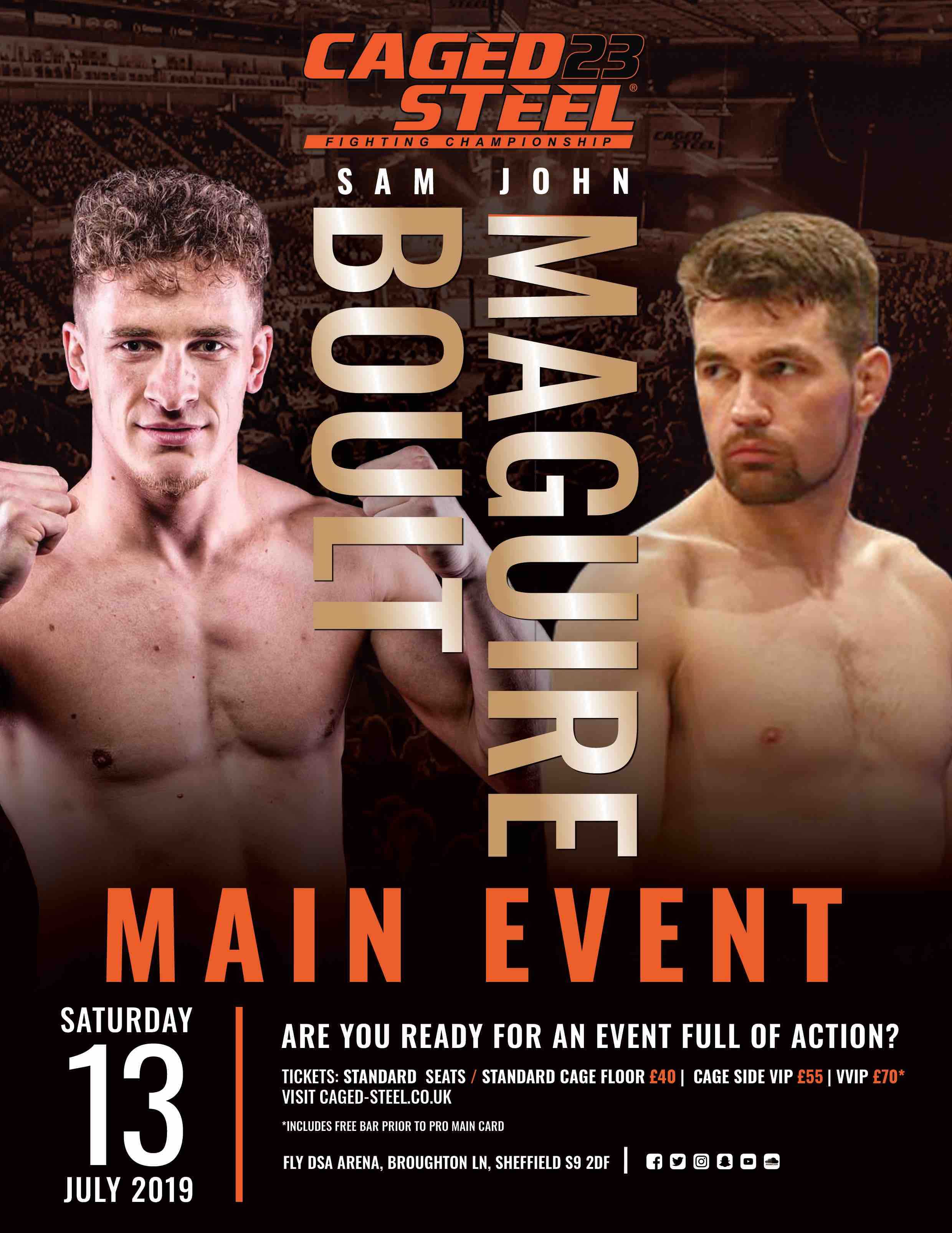 Caged-steel-main-event-sam-boult-vs-john-maguire-sheffield-arena