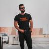 Caged Steel Black T-shirt