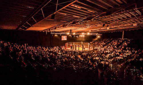 Caged Steel MMA Arena